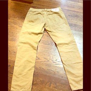 True religion jeans beige